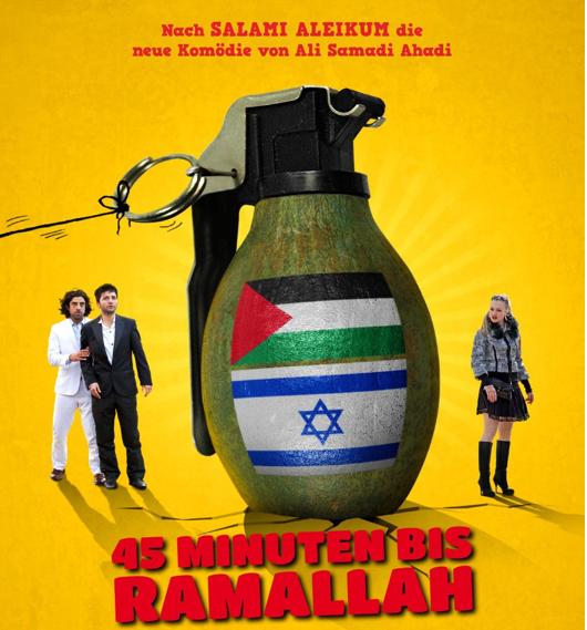 Plakat 45 Minuten bis Ramallah
